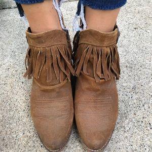 SAM EDELMAN western booties Size 9